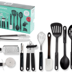 Gibson Home Total Kitchen 20-Piece prep n' serve combo set
