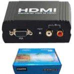 VGA+ R/L AUDIO TO HDMI CONVERTER
