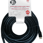 60'/18.3M TES ULTRA HIGH SPEED 4K HDMI V2.0 CABLE with ETHERNET