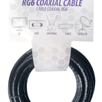 15'/4.6M TES RG6 COAXIAL CABLE