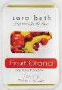 2.5 Oz 6PK Fragrance Melts – Sara Beth Soy-Based Fruit Stand