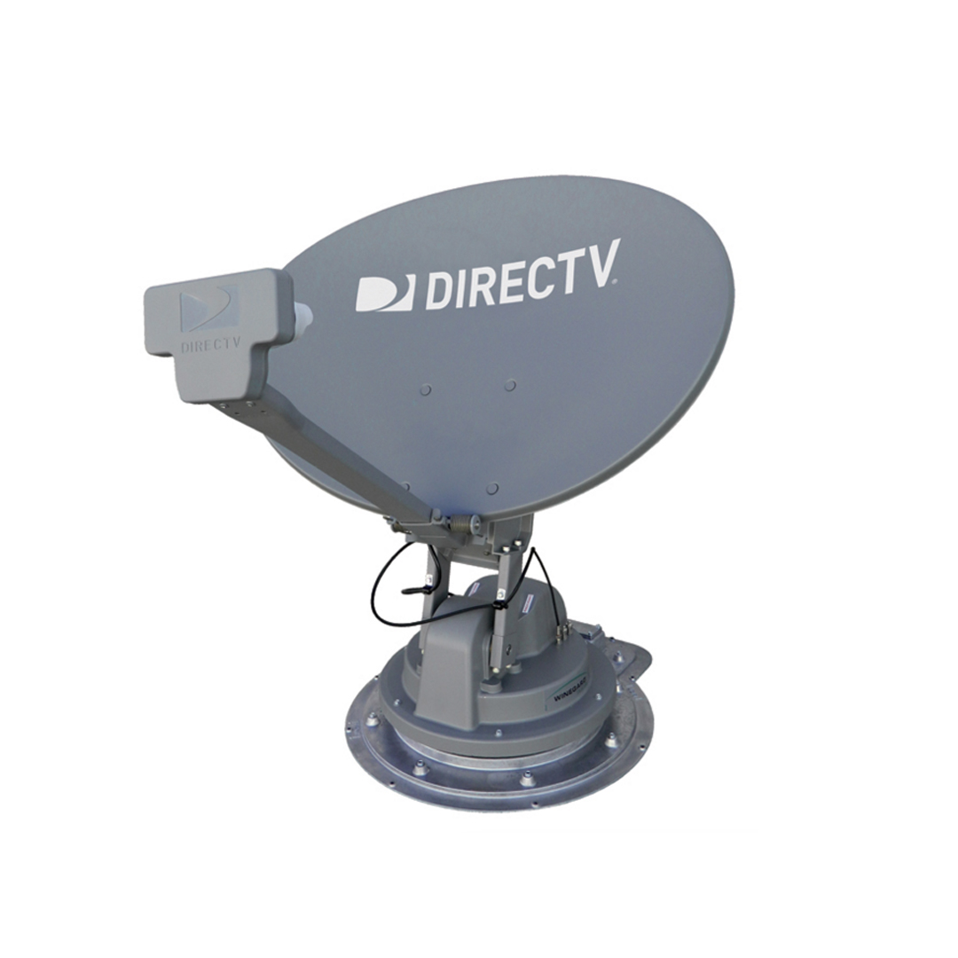 WINEGARD TRAV'LER SK-SMW3 SLIMLINE STATIONARY AUTOMATIC DISH FOR DIRECTV