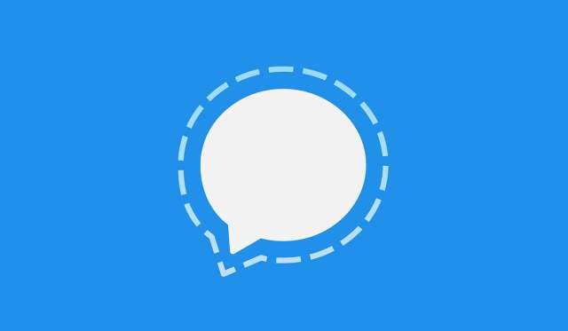 Signal Private messenger app logo