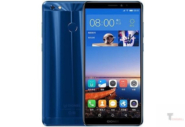 gionee m7 power with 5000mAh battery