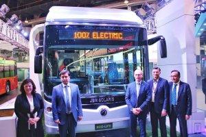 auto expo 2018 - electric bus