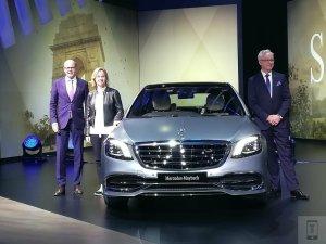 auto expo 2018 - mercedes maybach s 650