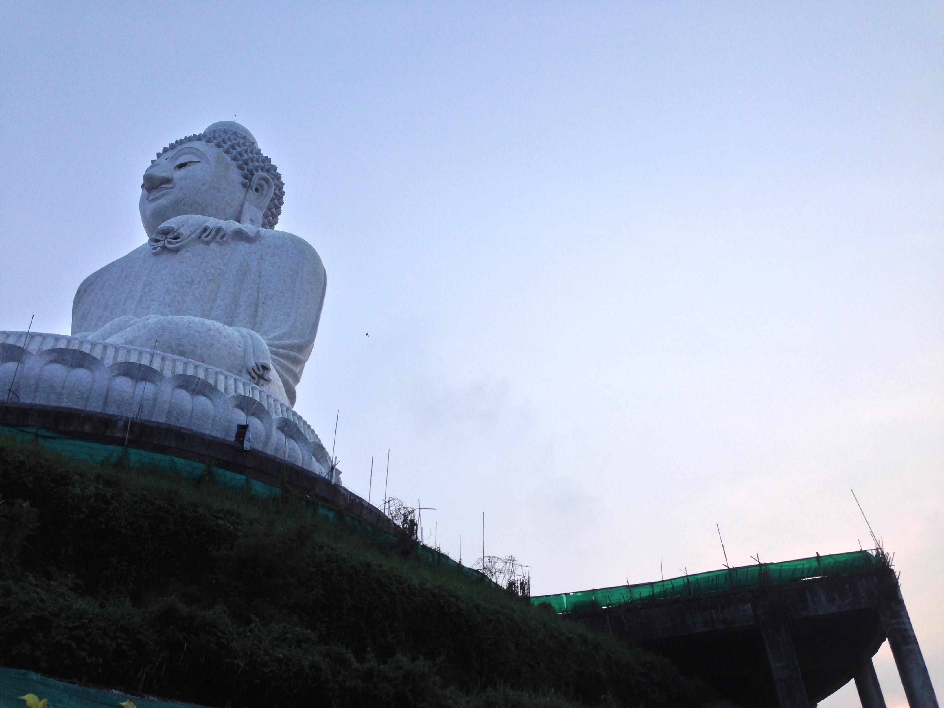 Big Buddha viewed from below