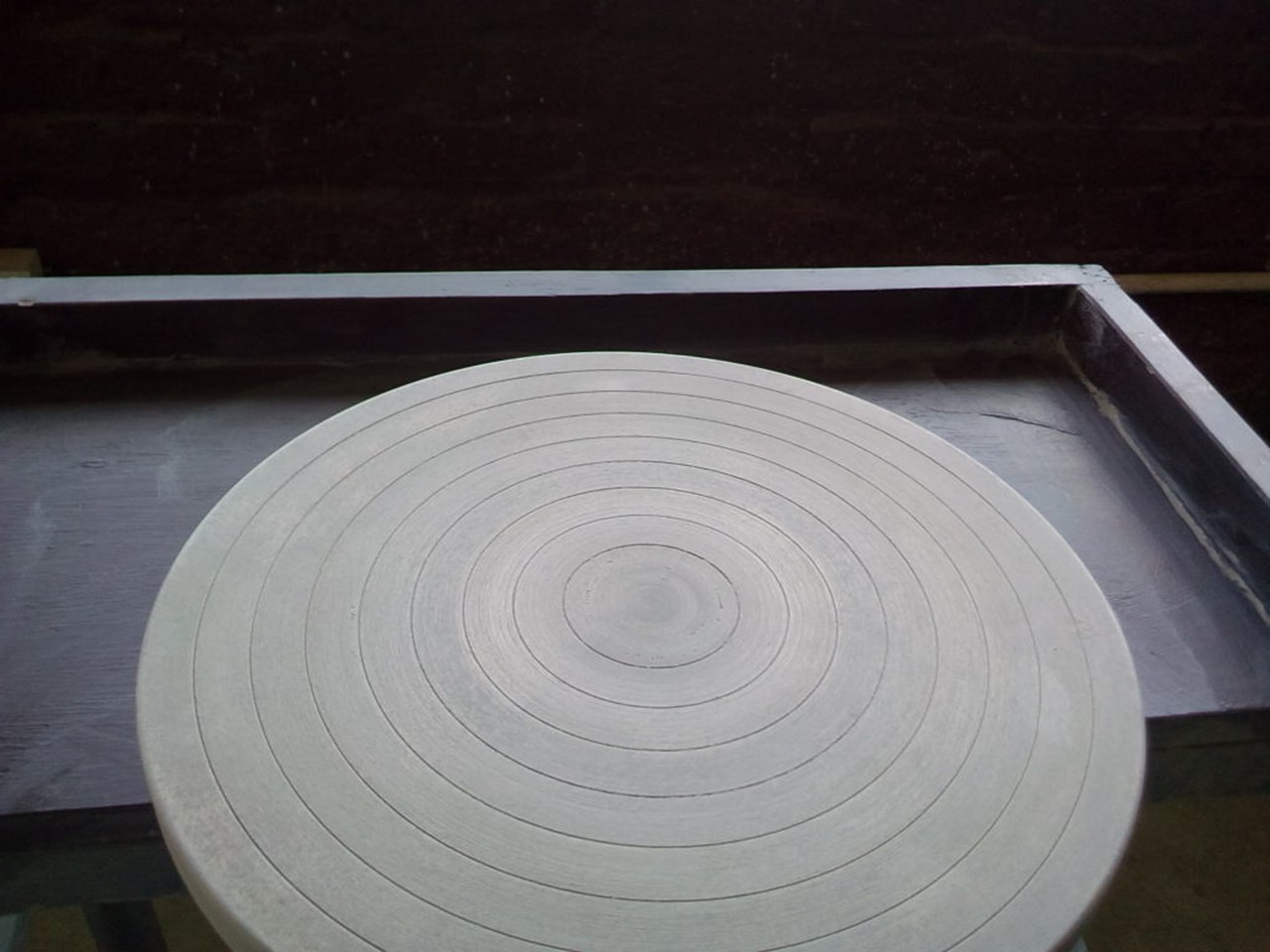 A potter's wheel