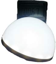This Led provides enough light for descent camping area when hanged at 3 meters hight.