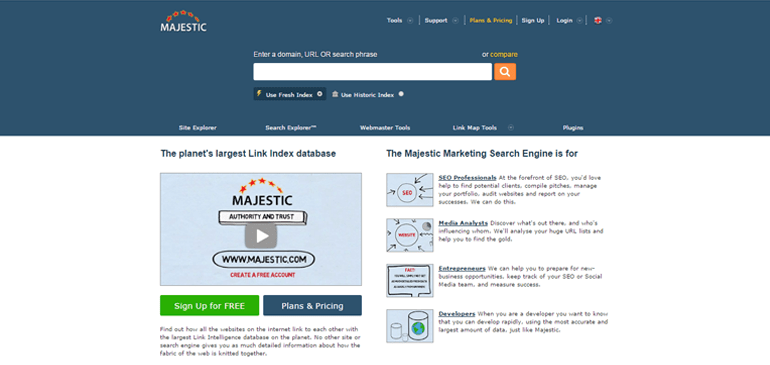 majestic Top 15 Most Recommended SEO Tools!