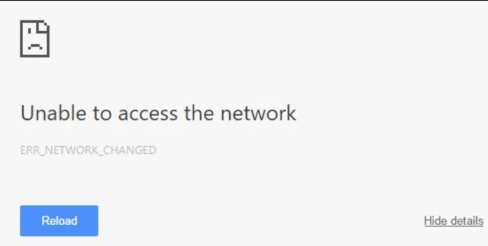 Fix-ERR_NETWORK_CHANGED-in-Chrome