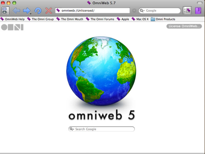 Omniweb Browser for mac