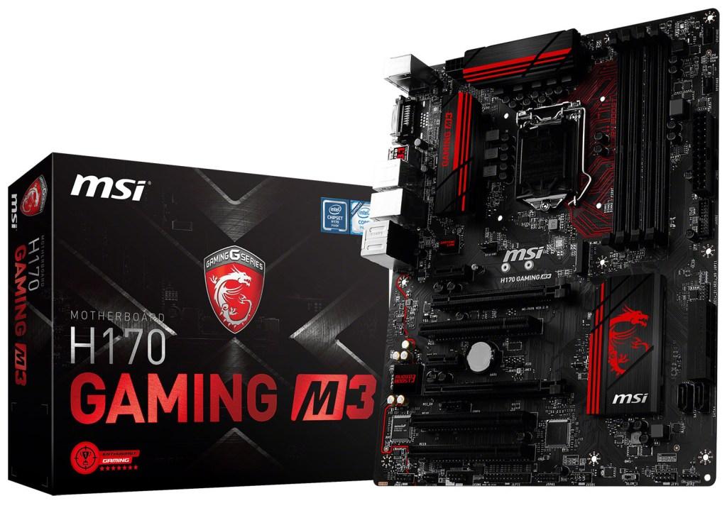 MSI Gaming H170 Gaming M3
