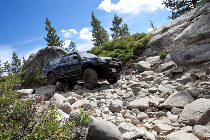 Off roading excursion