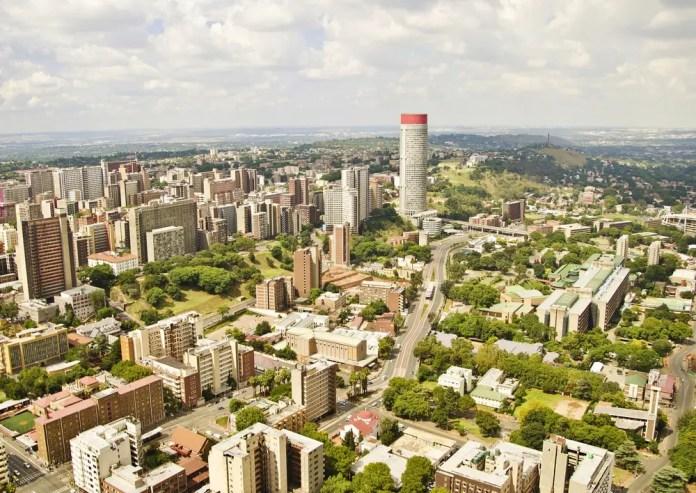 Johannesburg Skyline.