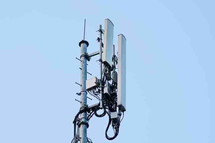 4G and 5G Cell site