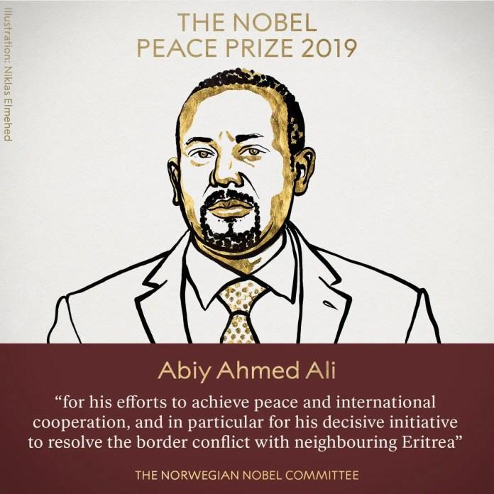 Ethiopian Prime Minister Abiy Ahmed Ali.