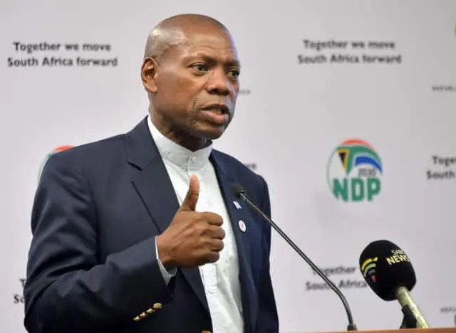 Minister of Health, Dr Zweli Mkhize,
