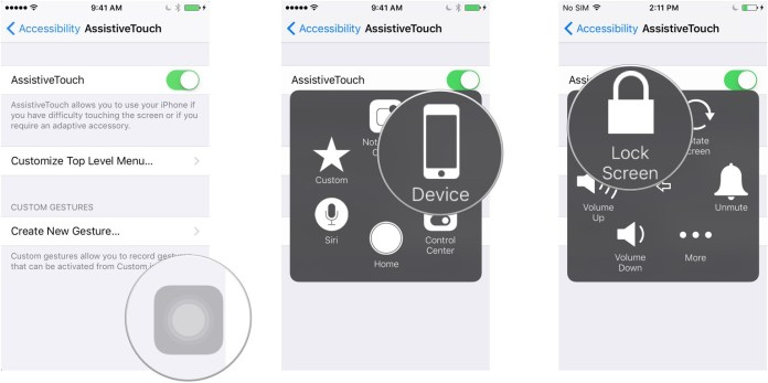 Add Virtual Home button On New iPhone XS, XC and XR: