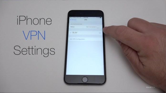 Delete VPN on iPhone X/ iPhone 8 Plus/ 7 Plus: