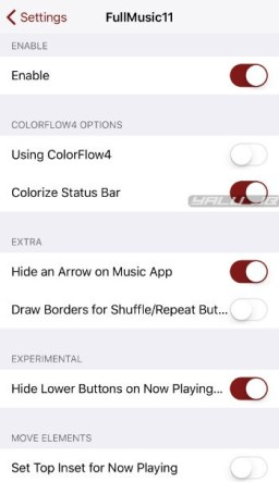 FullMusic11 – Download and Install Bring back Full-Screen in Music app: