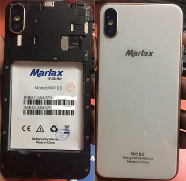 Marlax MX103 Flash File