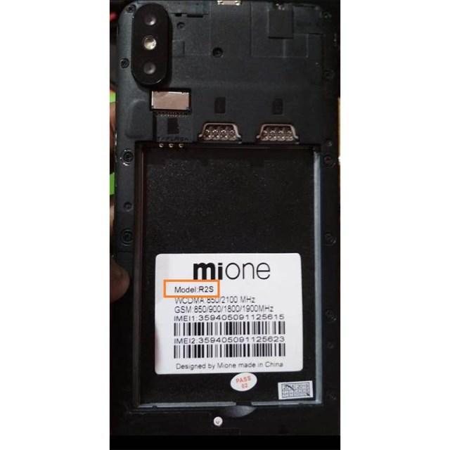 Mione R2S Flash File