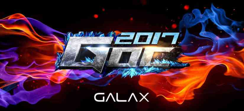 GALAX Overclocking/eSports Carnival 2017