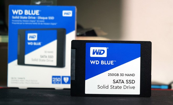 western digital ssd blue 3d nand 256gb