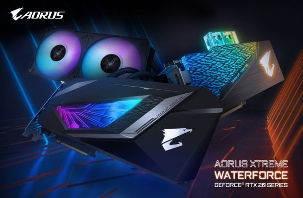 GIGABYTE AORUS Extreme WaterForce GeForce RTX 20-series