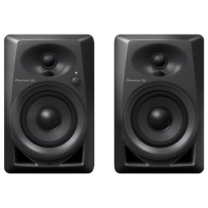 Pioneer DM-40 Active Monitor Speakers, Black