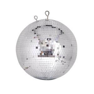 QTX Professional Mirror Ball, 30cm - 12inch