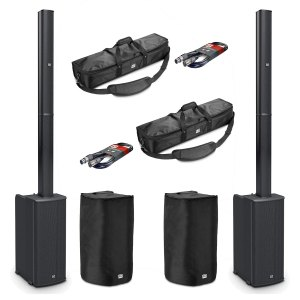 LD Systems 2 x MAUI 11G2 Column PA System Package