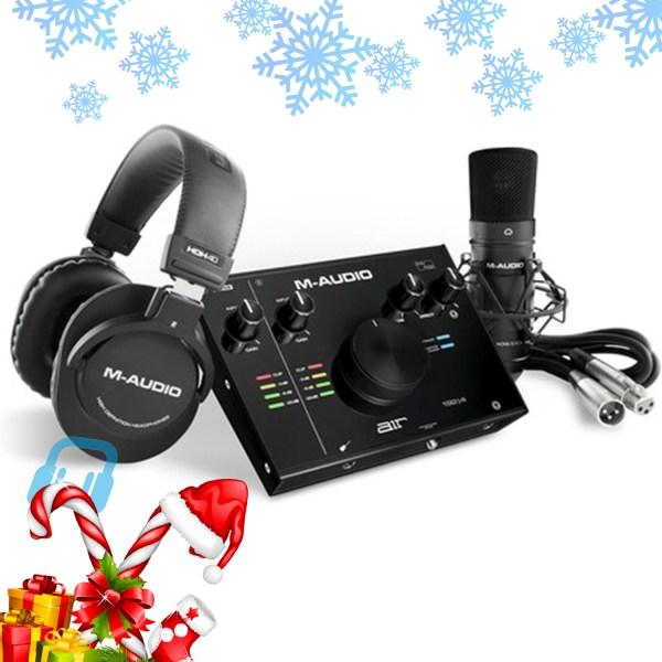 M-Audio Air 192 | 4 Vocal Studio Pro Recording Pack With Mic & Headphones