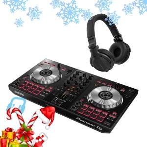 Pioneer DDJ-SB3 DJ Controller with HDJ-CUE1 Headphones