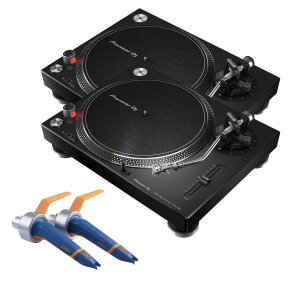 Pioneer PLX-500K with Ortofon Concorde DJ MKII (Twin Pack) Package