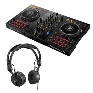 Pioneer DDJ-400 DJ Controller & Sennheiser HD 25 Headphones