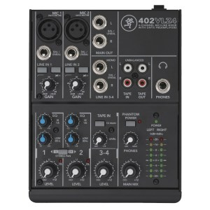 Mackie 402-VLZ4 4 Channel Analog Compact Mixer