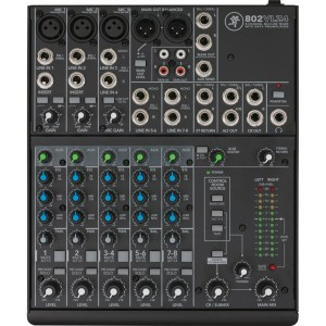 Mackie 802-VLZ4 8 Channel Analog Compact Mixer
