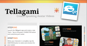 Tellagami Tutorial Image