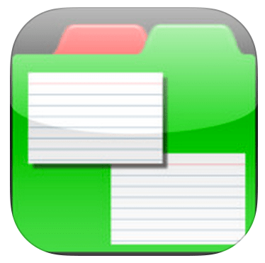 App Review – Index Cards & Chalkboard