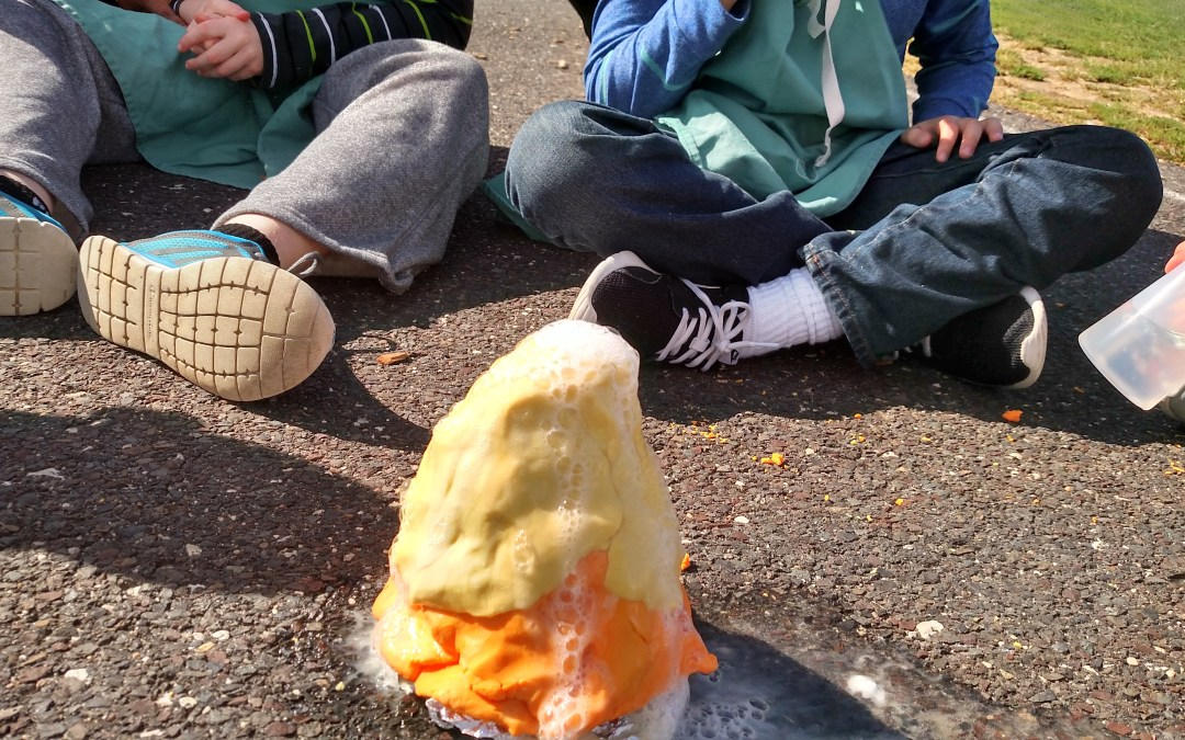 Candy Corn Volcanos