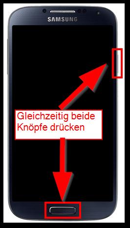 Anleitung Samsung Galaxy S4 Mini Screenshot Erstellen
