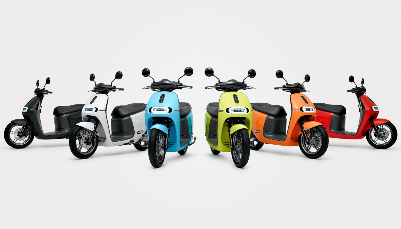 Spice Up Your Commute With This New Gogoro Scooter