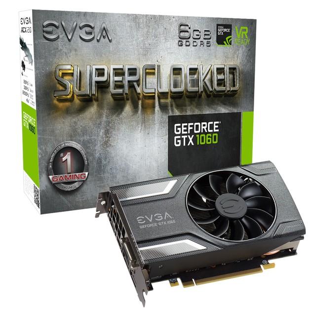 EVGA GeForce GTX 1060 Gaming SC