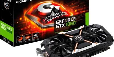 Gigabyte GeForce GTX 1060 Xtreme Gaming 6G