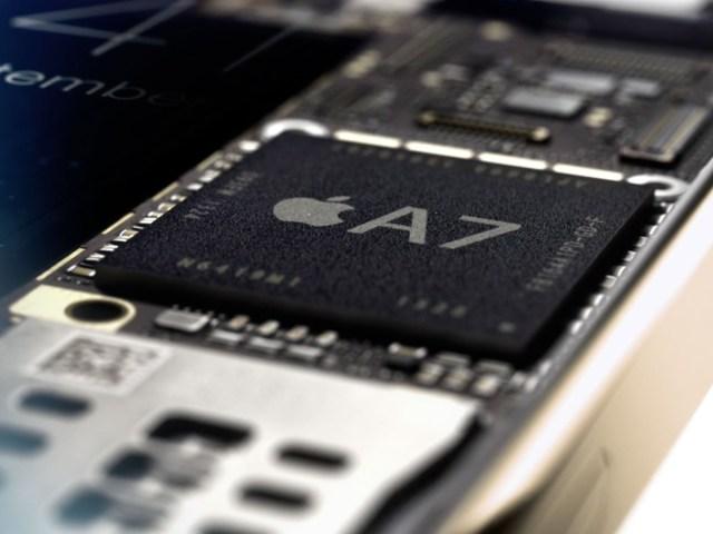 apple a7 specyfikacja