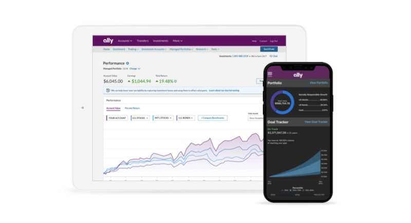 Ally Invest app