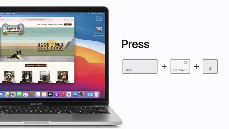 How to take a screenshot on your Mac