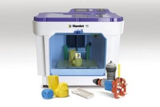 Hamlet 3DX100, la stampante 3D per le scuole e le PMI